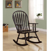 Traditional Wood Rocker in Cappuccino 600186(COFS)
