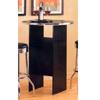 Bar Table With Chrome Trim 6017 (CO)