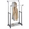 Double Adjustable Garment Rack 1719(OIFS15)