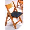 Oak Folding Chair 6186 (WD)