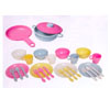 27 Pc Pastel Kitchen Playset 63027 (KK)