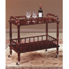 Solid Wood Serving Cart 6305(TOPFS)