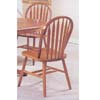 Oak Finish Arrow Back Windsor Chair 6344OAK (A)