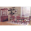 7-Piece Cherry Finish Chippendale Dinette Set 2516_(ML)