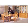 lly7-Pc Solid Wood Dinette Set / Maple Finish 677(IEM)