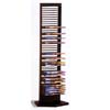 Black Metal DVD Rack 700023(CO)