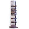 Silver Finish Metal DVD Rack 700033(COFS16)