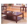 3 Pc Occasional Set In Cappuccino Finish 700285 (COui)