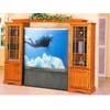 Expandable TV Armoire In Oak Finish 7091 (IEM)