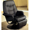 Leatherette Cushion Swivel Recliner 75_ (COFS70)