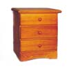 Solid Pine Three Drawer Chest 552_ (PI)