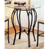 Bar Table With Glass Top 7908/CB36RD12 (CO)