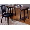 Cappuccino Finish Trestle Style Office Desk 800261 (CO)