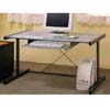Glass Top Computer Desk 800321 (CO)