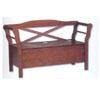 X Back Storage Bench 84002WAL-01-KD-U (LN)