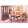 7-Piece New England Dark Walnut Dinette Set 8940 (A)