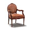 Accent Chair In Oak Finish 900091 (CO)