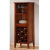 Wine Rack In Antique Oak Finish 900123 (CO)
