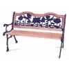 Lotus Cast Iron Park Bench 90017 (LB)