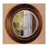 Round Bevelled Mirror in Bronze Frame 900198 (CO)