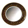 Swirl Mirror In Gold Finish 900258 (CO)