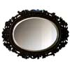Wall Mirror in Antique Dark Bronze 900348 (CO)