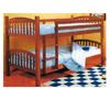 Modera  Pecan Bunk Bed 9015 (LN)