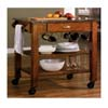 Granite Top Kitchen Cart 910009 (CO)