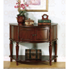 Solid Wood Brown Accent Table 950059(COFS)