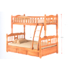 Solid Wood Twin/Full Bunk Bed BB-012(ALA)