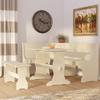 Bronzewood 3 Piece Dining Set 4861(WFFS)