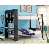 Langley Twin Size Bunk Bed w/ Workstation CM-BK2009(IEM)