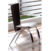 Silver/Black Dining Chair DC523B (PK)