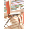 Silver/Cherry Dining Chair DC523C (PK)