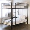 Malia Twin/Twin Bunk Bed VVRO4529(WFFS)