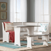 Solid Wood Monroe 3 Piece Nook Dining Set 3892(WFFS)