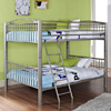 Full Over Full Bunk Bed _137(PWFS)