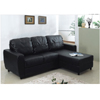 L-Shaped Convertible Sofa Bed S305BK(PK)