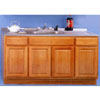 Solid Oak Sink Cabinet  SBW60 (ARC)