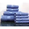 8PC. Set Sky-Blue Egyptian Cotton Towels ed8pc (RPT)