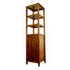 Spa Bath Tower with Tilt Out Hamper TH16501 (PMFS)