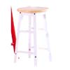 24ÃÃH Stool In Natural/White Finish UF-033D (UF)