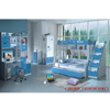 Twin/Full Bunk Bed YA-10_B(PK)