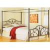 Black Contour Canopy Bed B9122 (FB)