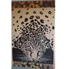 Tiger in the Beach 40x70 Egyptian cotton Beach Towel (RPTFS)