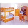 Solid Pine Twin/Twin Convertible Bunk Bed 2160 (IEM)