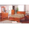 Oak Finish Bedroom Set CM7650_ (IEM)