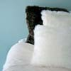 Single Sided Lambskin Cushions (BW)