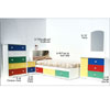 Multicolor Juvenile Bedroom Set G-SET-61 M/C (VF)