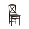 Triena X Back Set Of 2 Folding Chair 01826ESP(LNFS)